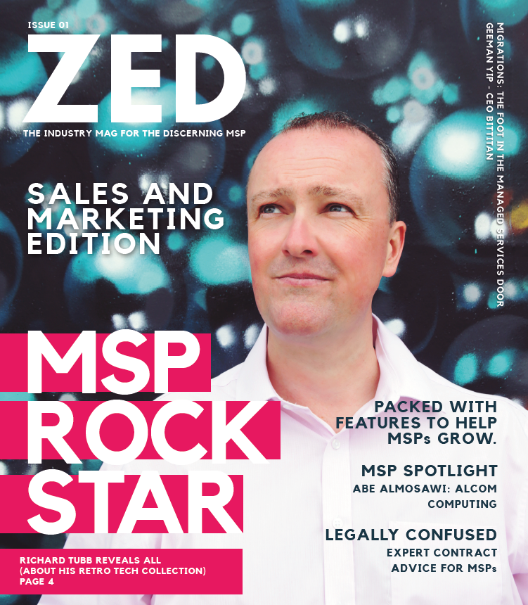 Zedsphere magazine for Managed Service Providers